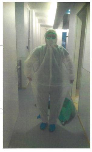 Desinfektionsreinigung 1